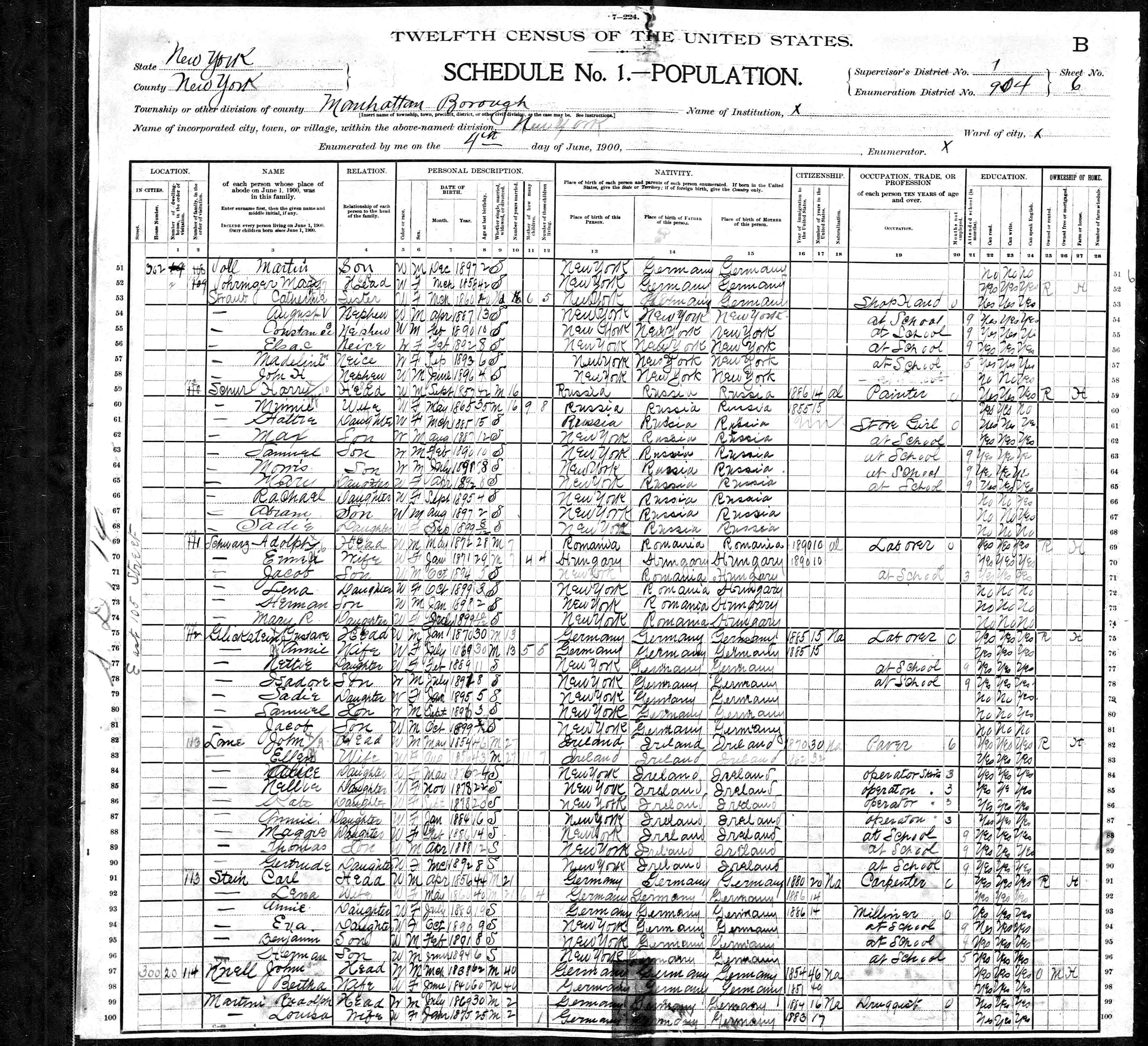 Brianblitz family tree and document index 1928 pelham ny directory 1930 census 1944 trip to canada 1945 trip to canada death certificate 6231948 xflitez Image collections
