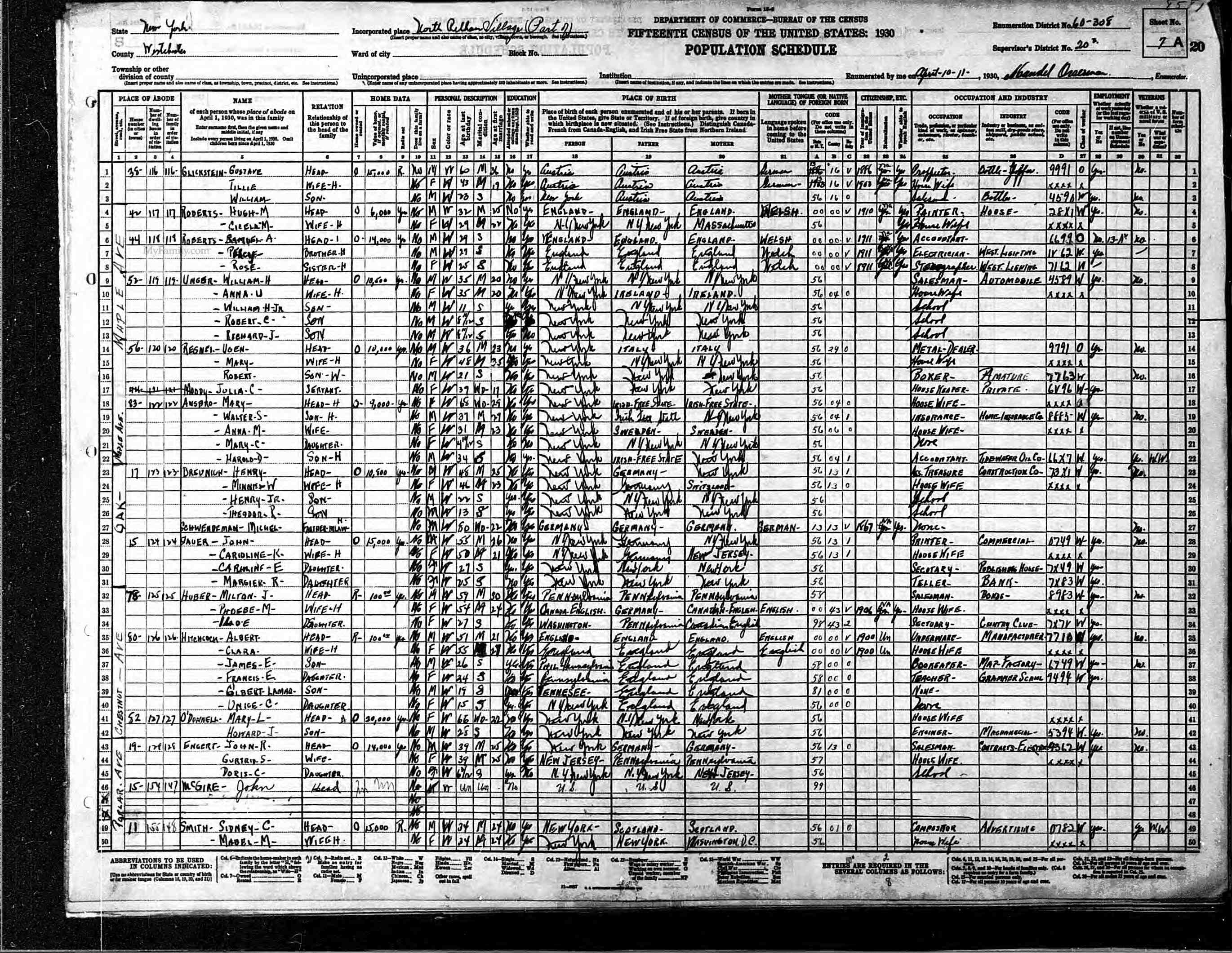Brianblitz family tree and document index 1928 pelham ny directory xflitez Image collections